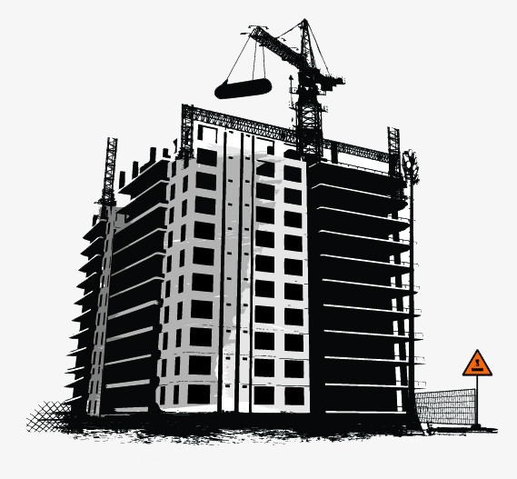 Building clipart construction. Site png image and