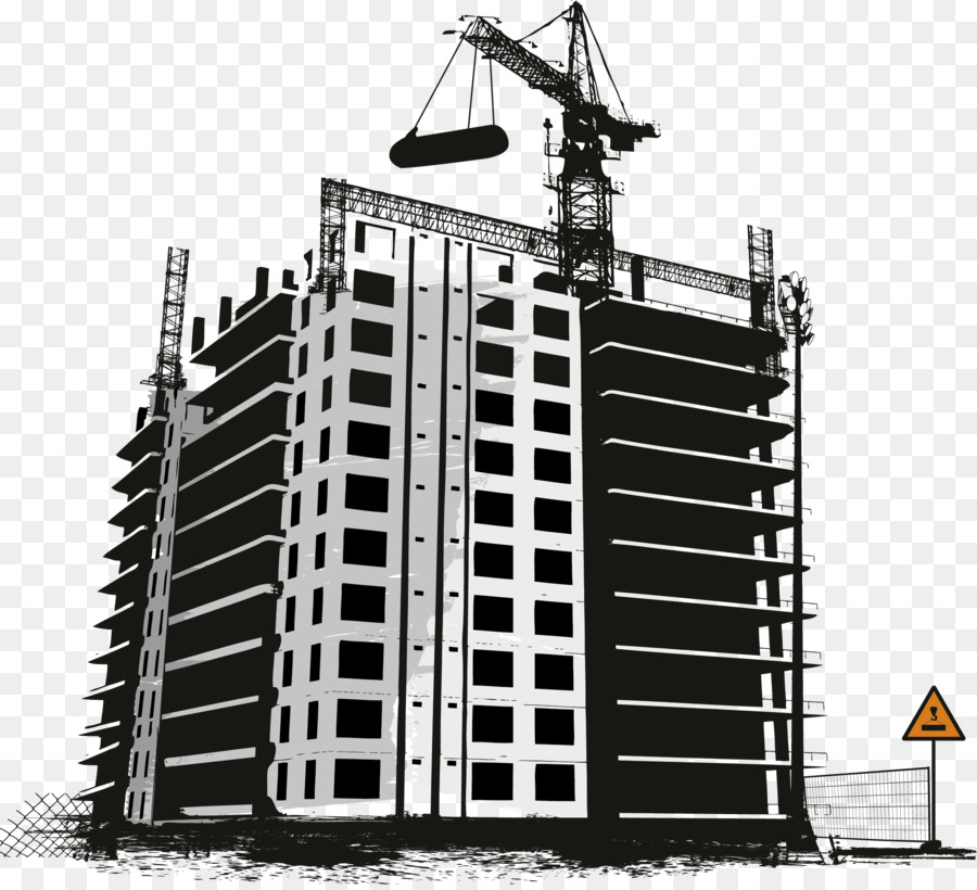 Background house . Building clipart construction