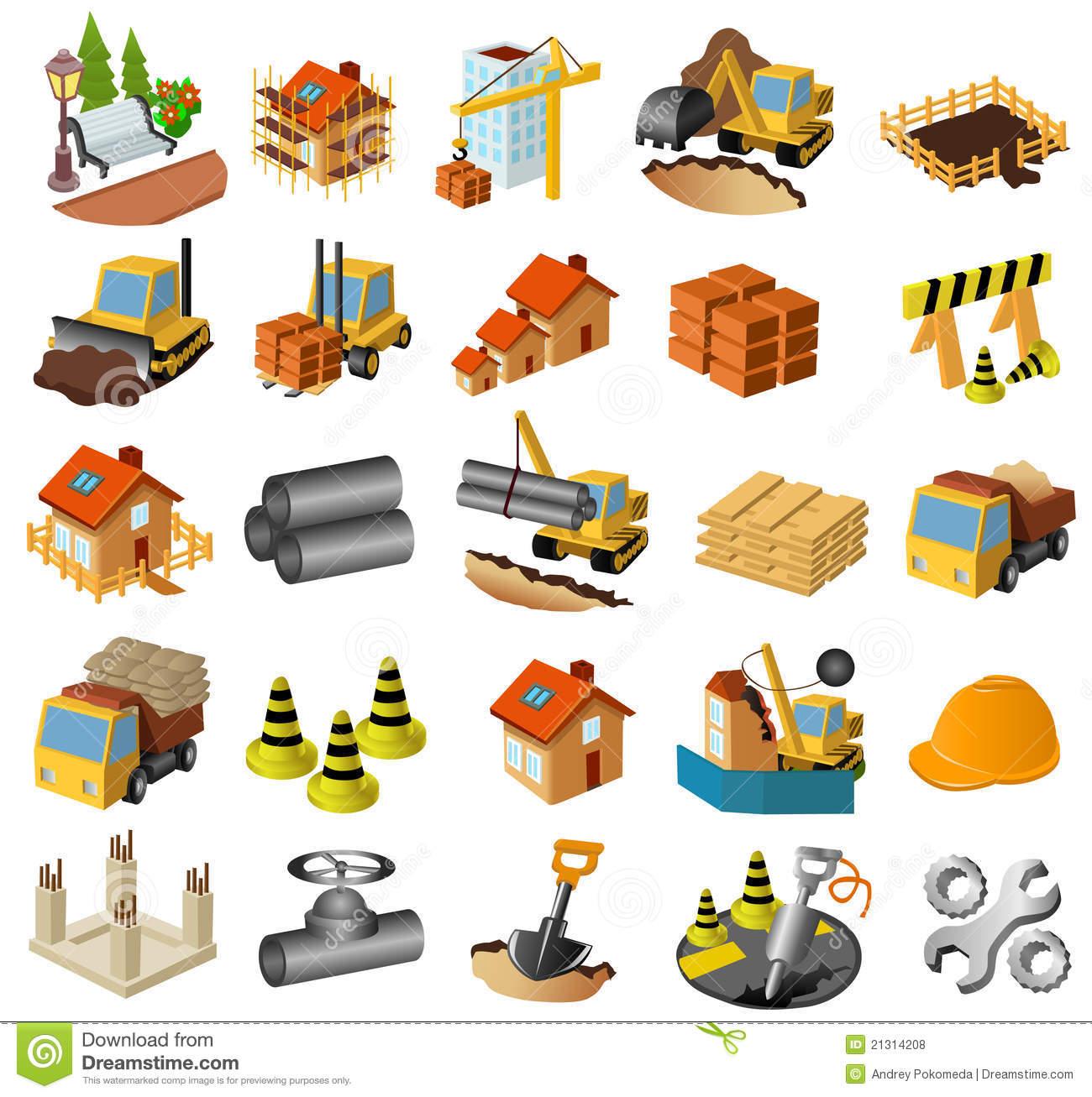 Building clipart construction. Free