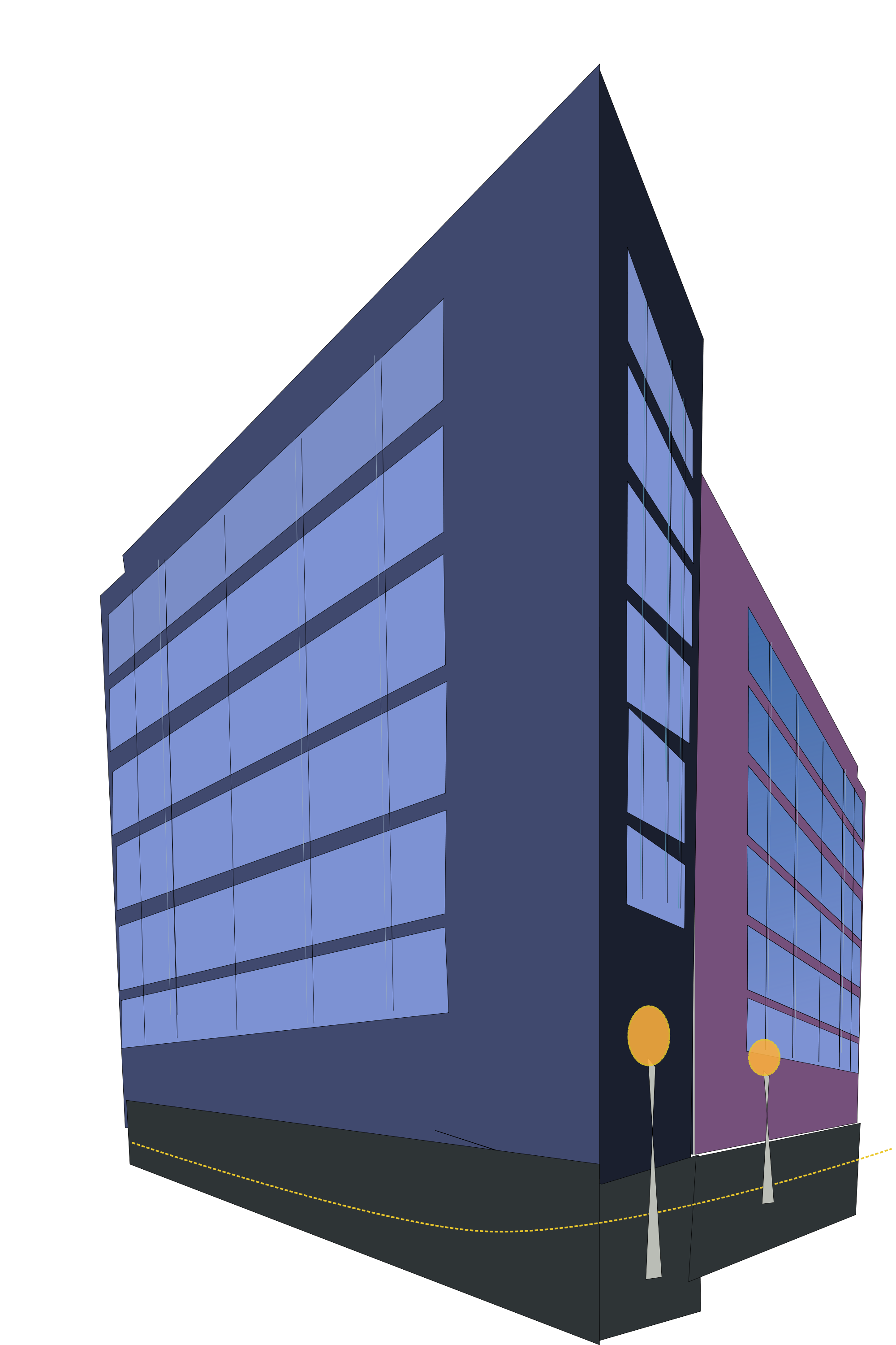 File commercial svg wikimedia. Building clipart corporate building