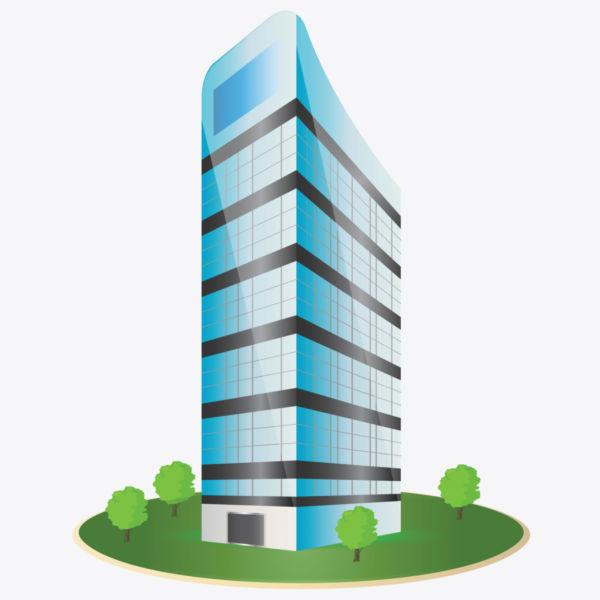 . Building clipart corporate building
