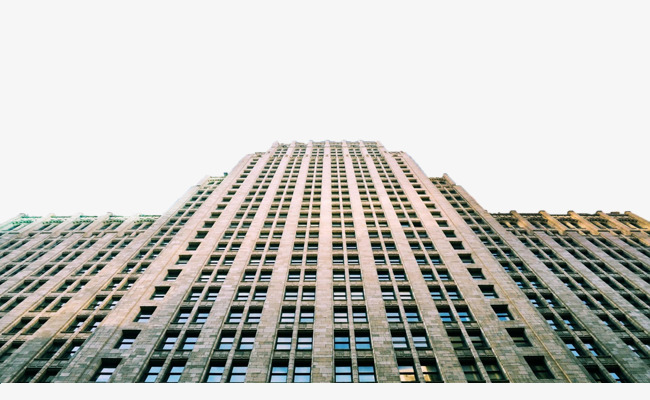 Building clipart high rise building. Look up at the