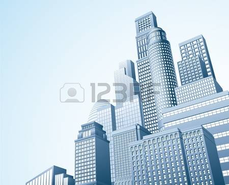 Building clipart high rise building. Urban pencil and in
