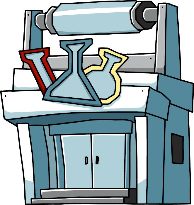 Scribblenauts wiki fandom powered. Buildings clipart laboratory building