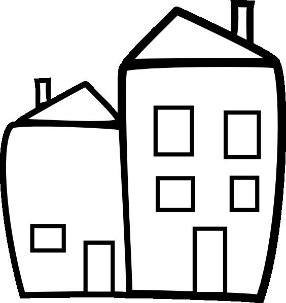 Apartment clipart bulding. Building clip art at