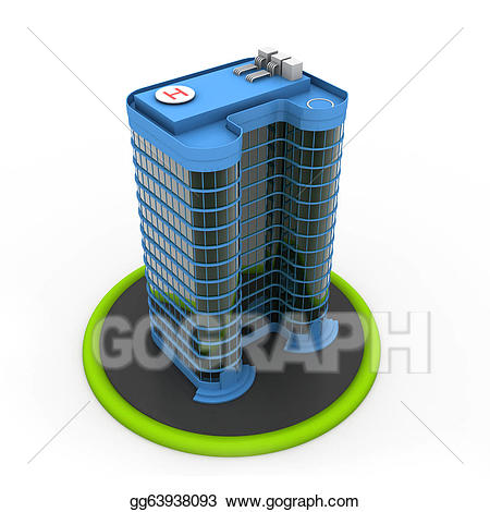 Tower clipart project. Stock illustration modern of