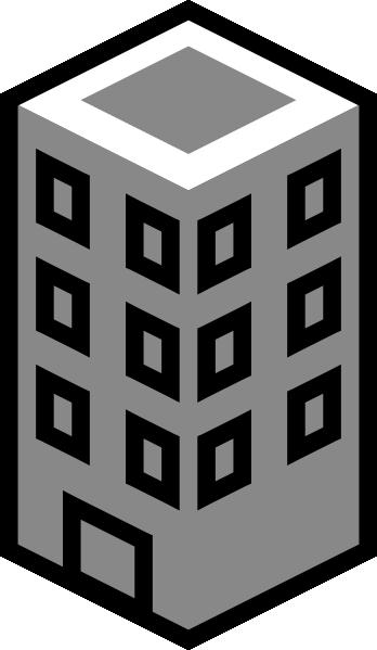 Buildings clipart clip art. Tower at clker com