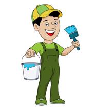 Free construction clip art. Buildings clipart painter