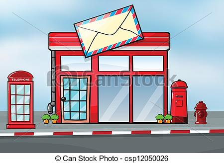 Buildings clipart post office. A clip art panda