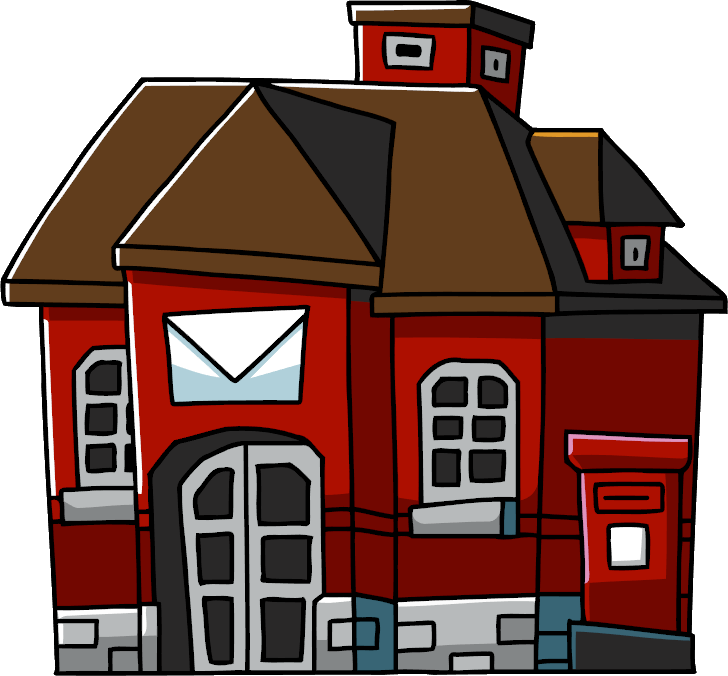 Scribblenauts wiki fandom powered. Buildings clipart post office