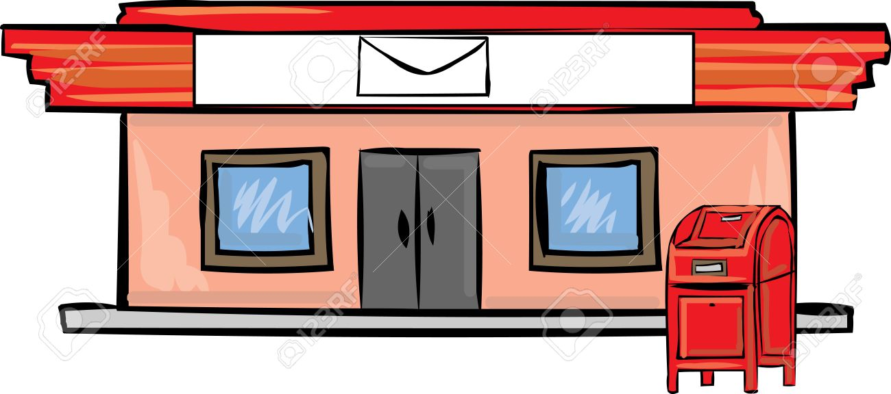 Buildings clipart post office.  collection of high