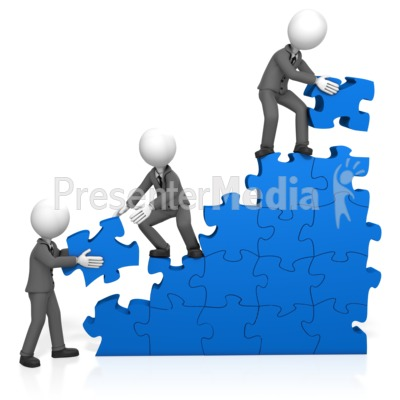 Buildings clipart puzzle. Wall construction team at