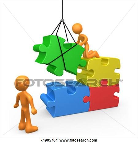 Building foundation . Buildings clipart puzzle