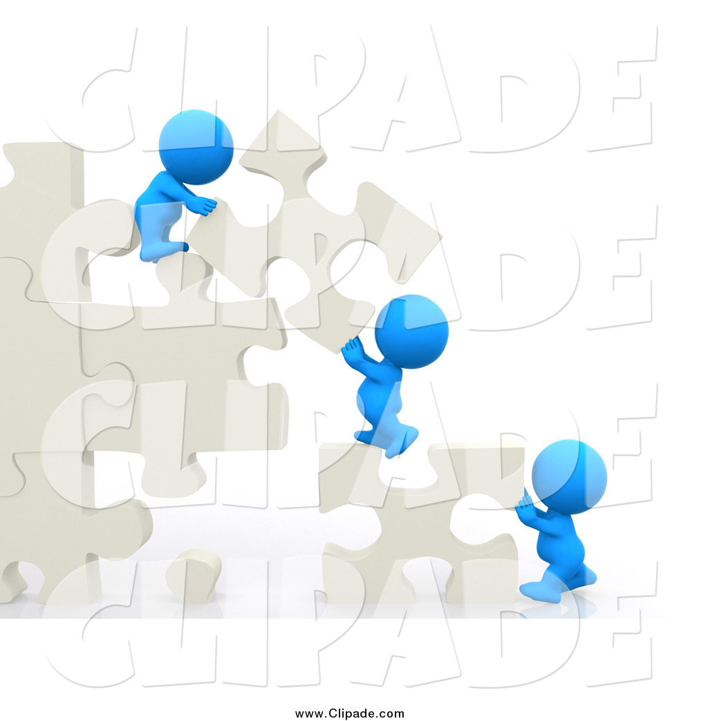 Buildings clipart puzzle. Clip art of a