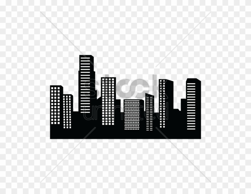 Drawing png download . Building clipart skyline