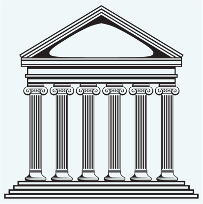 Buildings clipart structure. Social in the roman