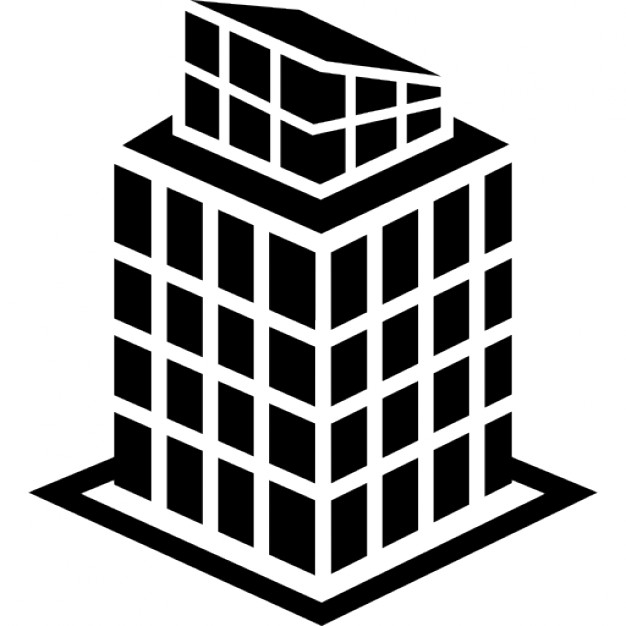 Buildings clipart structure. Tall building icons free