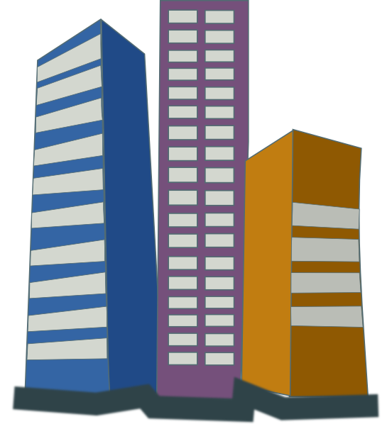 Tall clipart city building. Real estate high rise