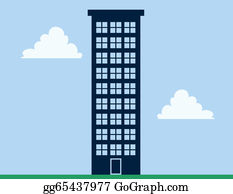 Building clip art royalty. Tower clipart tall tower