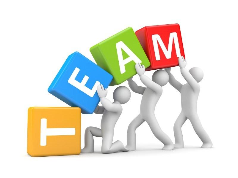 Corporate team building how. Teamwork clipart construction