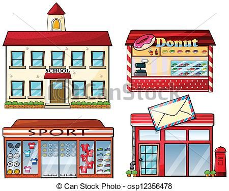 Building clipart town. Buildings clip art google