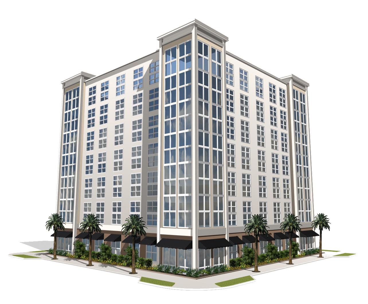 Png mart. Apartment clipart single building