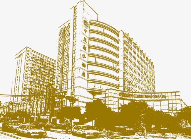 Buildings clipart transparent background. Building decorative pattern decoration