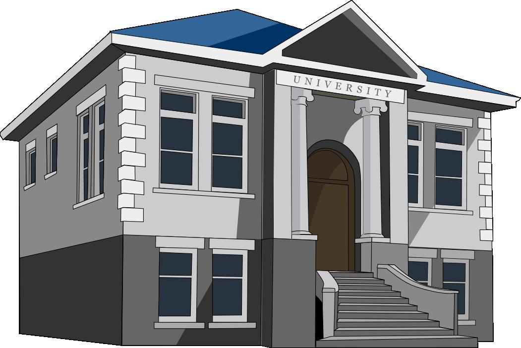 Schoolhouse clipart university school. Building
