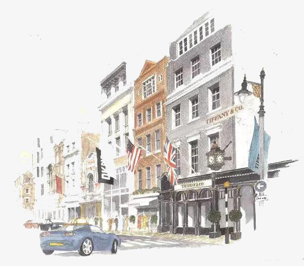 Architecture building house png. Buildings clipart watercolor