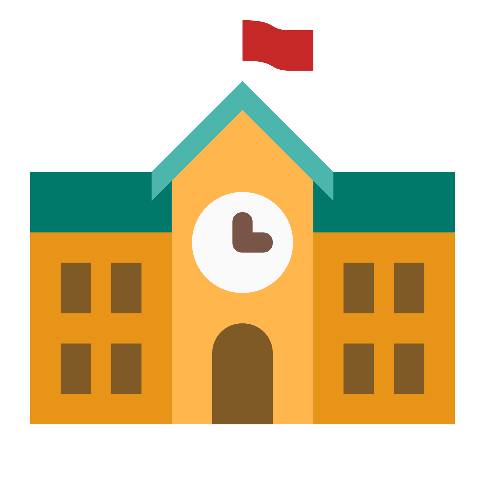 School icon free download. Building vector png