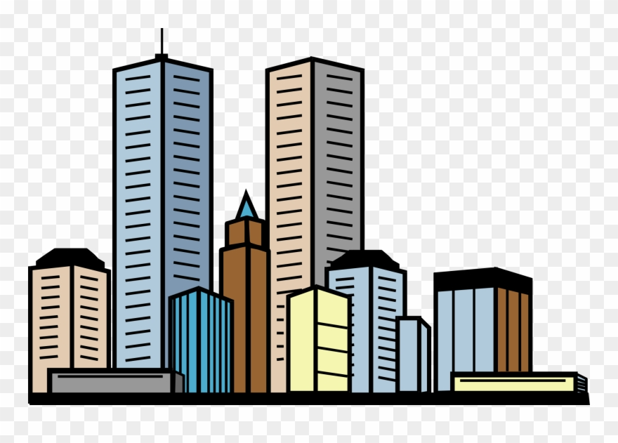 Building of png download. Buildings clipart