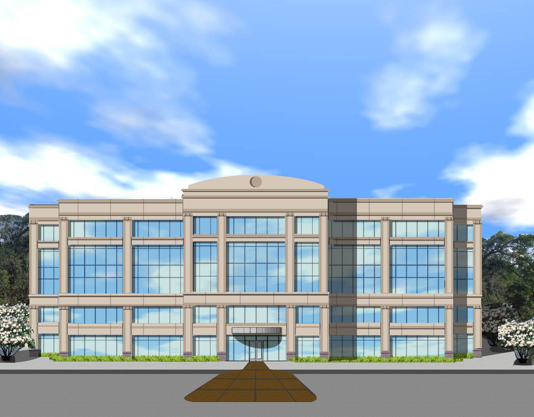 Precision constructors medical office. Buildings clipart building design