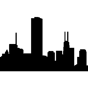 Silhouette of at getdrawings. Buildings clipart building design