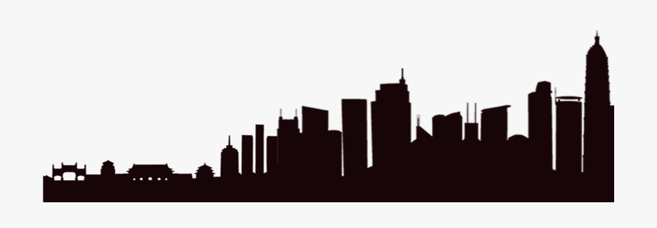 City silhouette at getdrawings. Buildings clipart building design