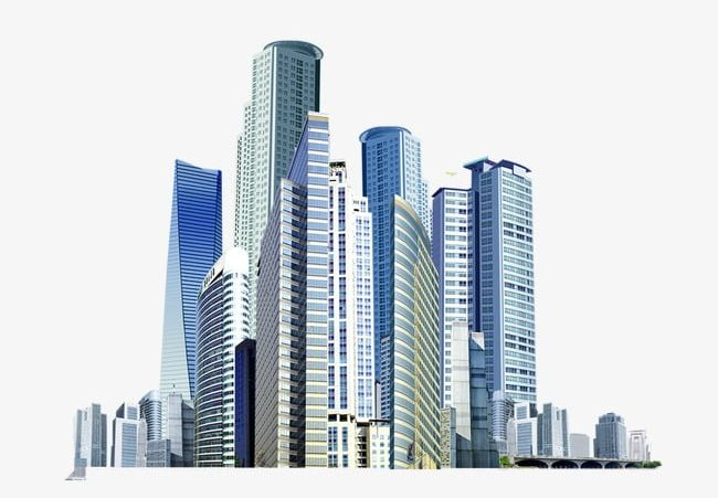 Virtual skyscrapers png . Buildings clipart city building