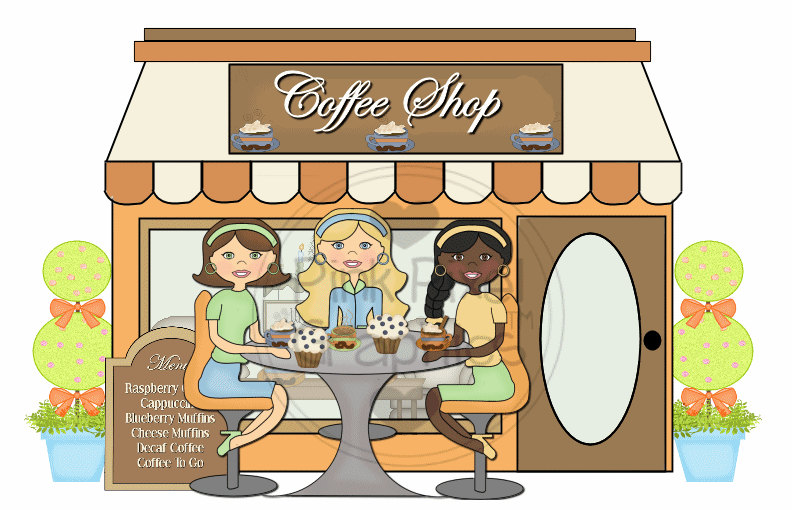 collection of free. Cafe clipart coffee shop