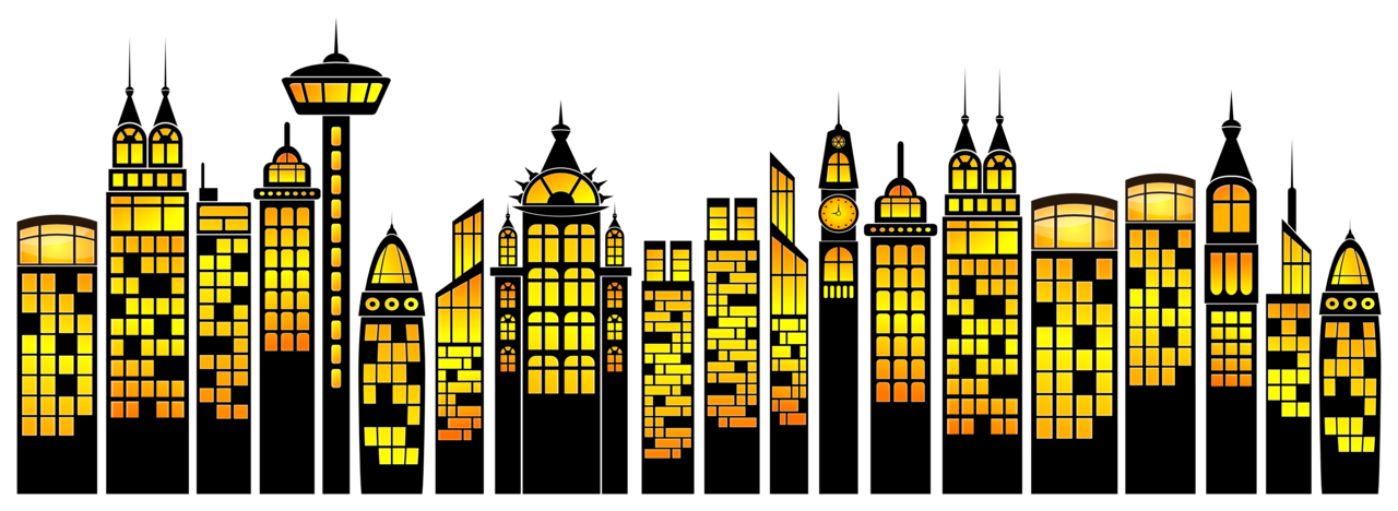 City clipart simple. Buildings by viscious speed