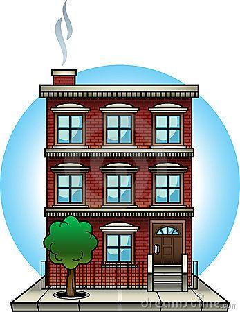 Appartement recherche google pinterest. Buildings clipart condominium