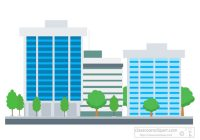 Free architecture and clip. Buildings clipart corporate building