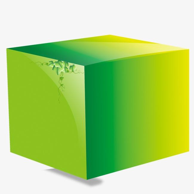 Green building blocks png. Buildings clipart cube