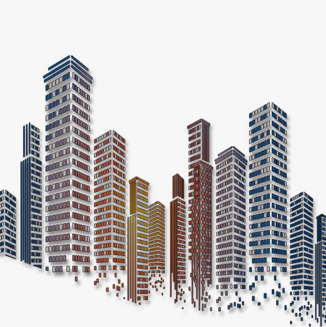 Building clipart tall building. City buildings high rise
