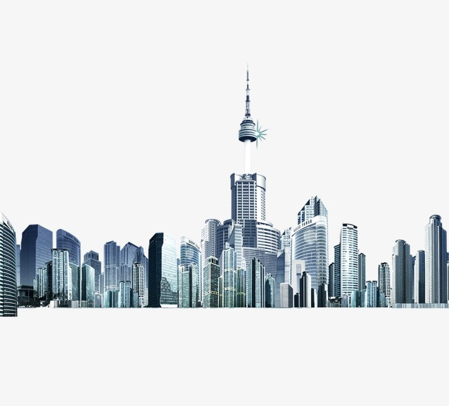 City wind shanghai png. Buildings clipart modern building