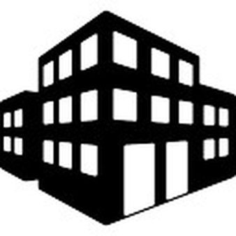 Icon free icons library. Buildings clipart office building