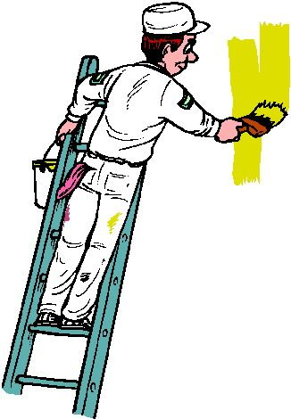 Buildings clipart painter. Wall paintings http www