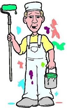 Free. Buildings clipart painter