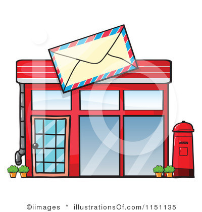 collection of building. Buildings clipart post office