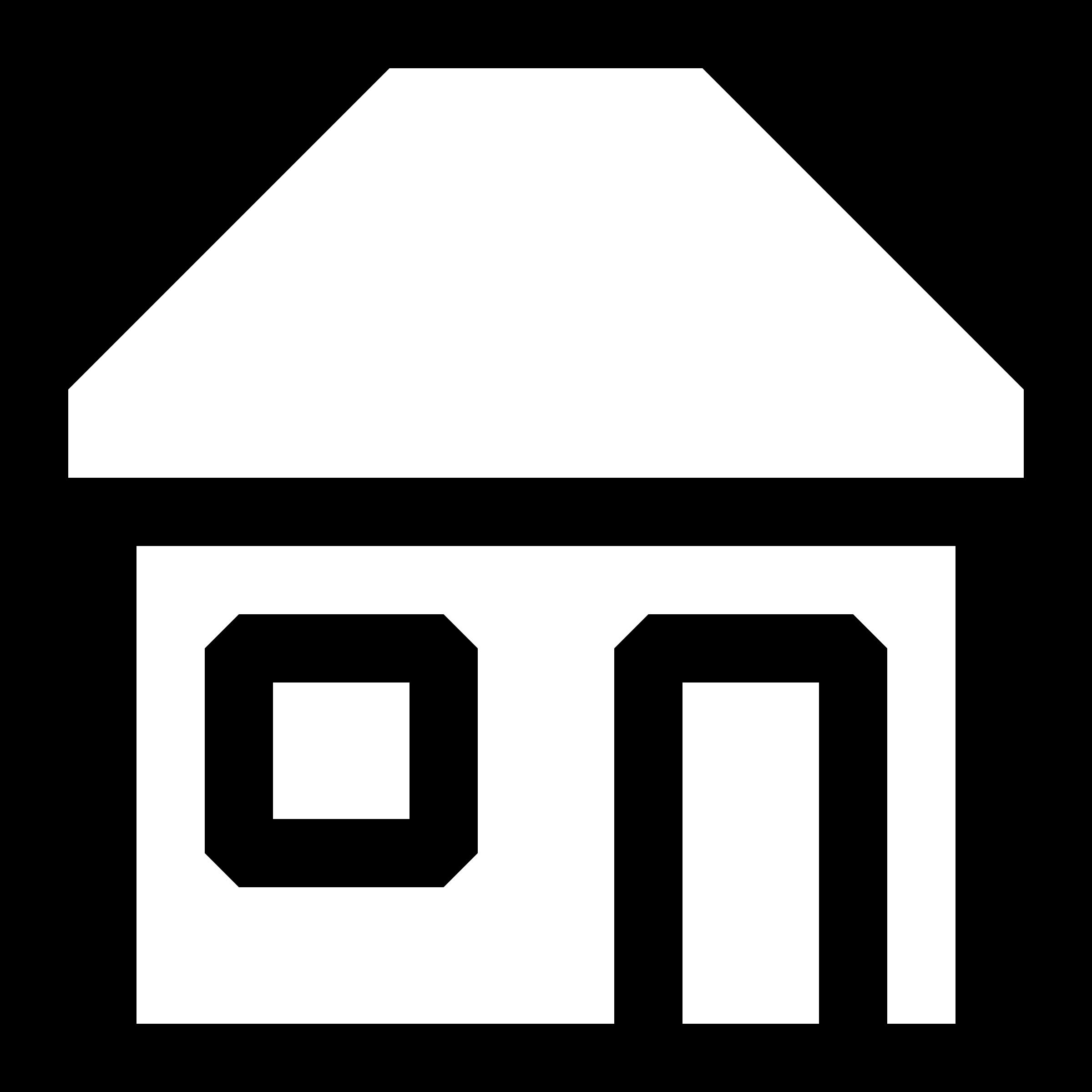 Buildings clipart simple. X px capable black