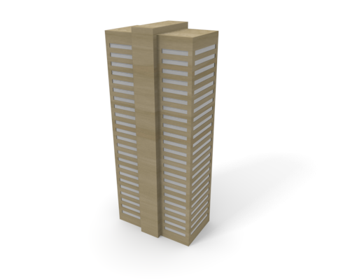 Office building free illustration. Buildings clipart skyscraper