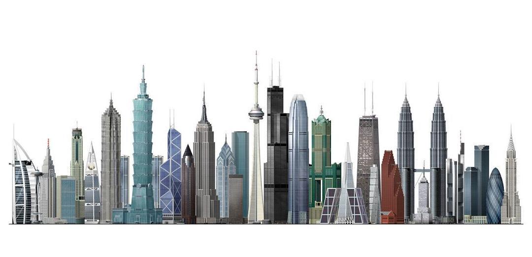 The world s tallest. Buildings clipart skyscraper