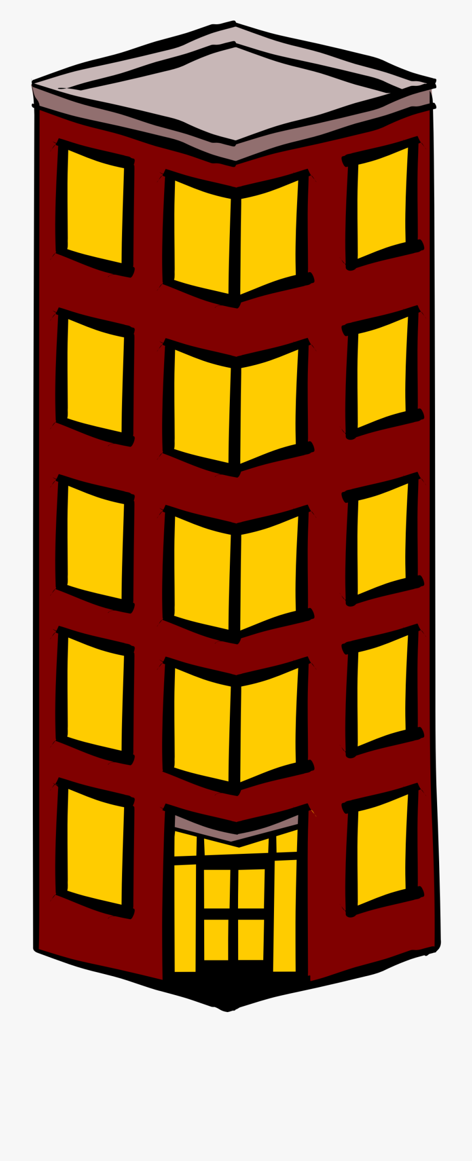 Freeuse download and . Buildings clipart tall building
